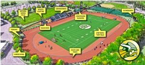 Athletic Complex: Work in Progress