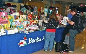 Book Fair and Bake Sale Held in Campus Center