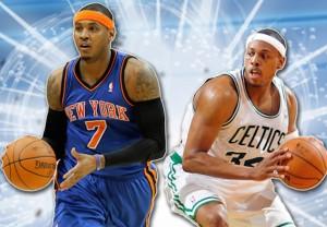 Knicks vs. Celtics at the Times Union Center