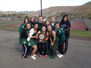 Tennis Finishes Second At Regionals, On to Nationals