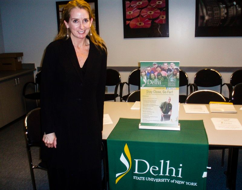 Patricia Deangelis for Delhi University.