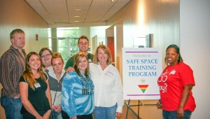 Students attending the Safe Space Training Program