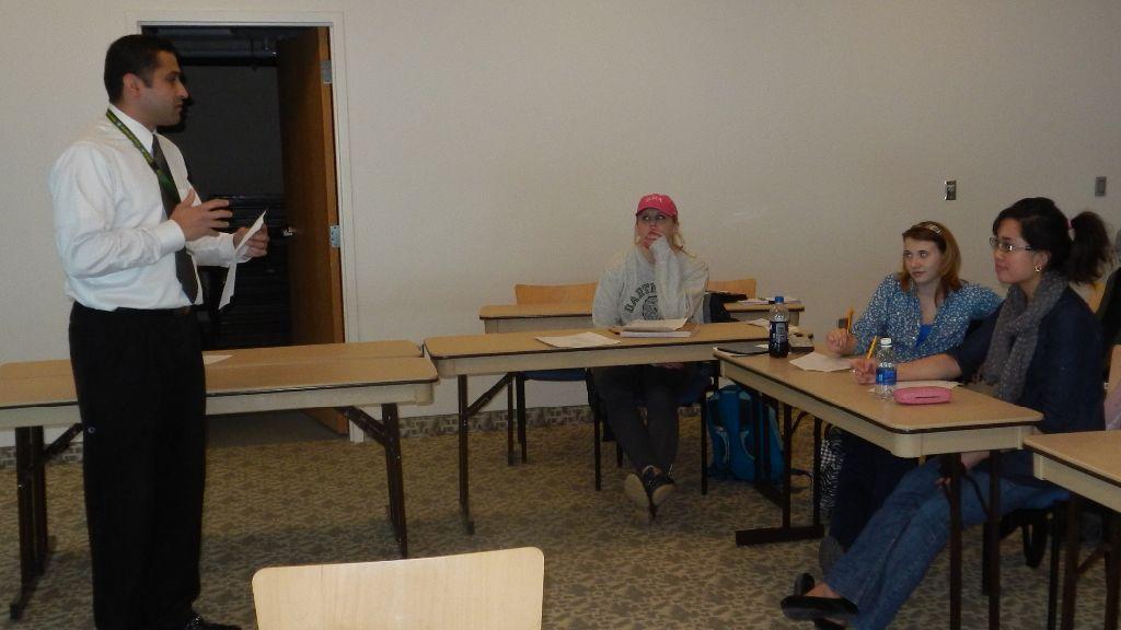 Leadership workshop series engages students