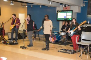 Mirk came to HVCC last Friday, putting on a concert in the middle of the Siek Campus Center as part of the college's first ever Guitarfest