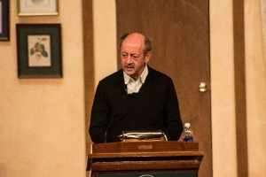 Billy Collins, former New York State Poet Laureate and United States Poet Laureate, reads from and discusses his work. -Konrad Odiambo