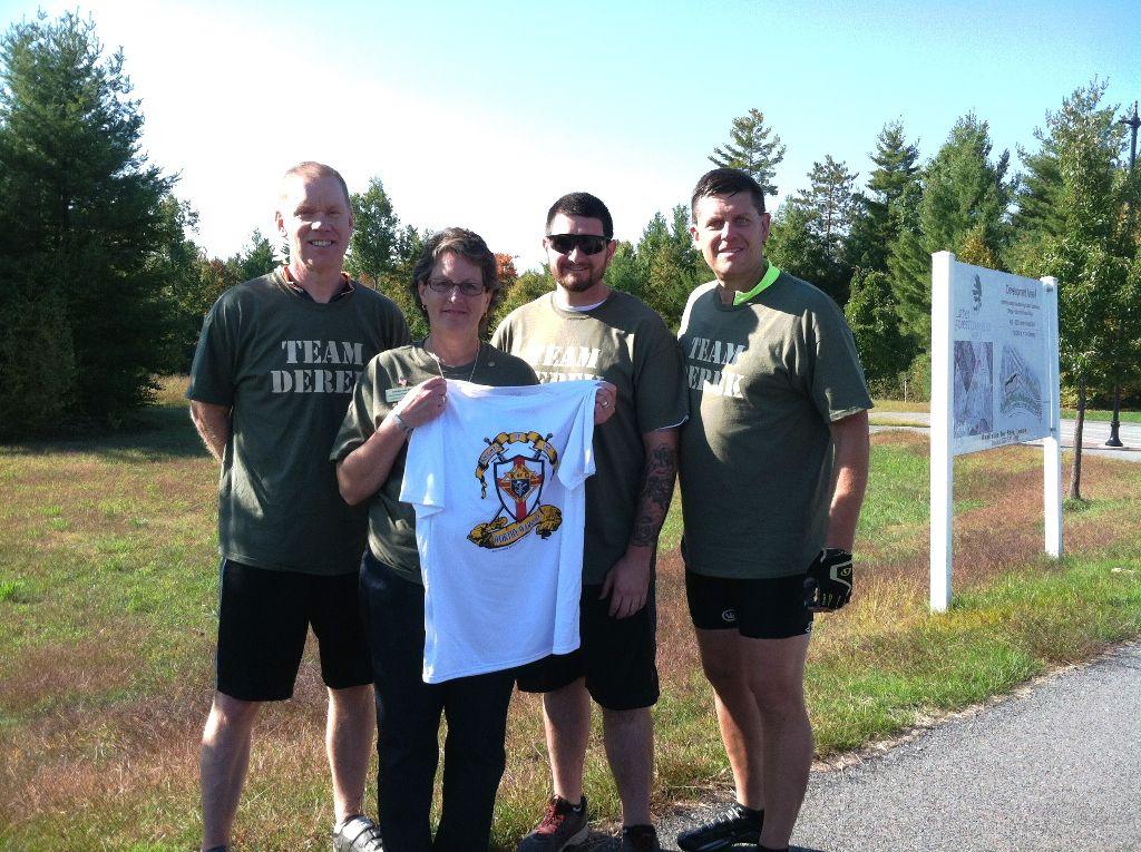 Armed Forces Club Races In Honor of Derek Farley