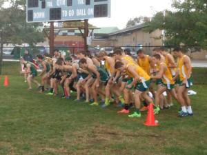 7. start of boy's race