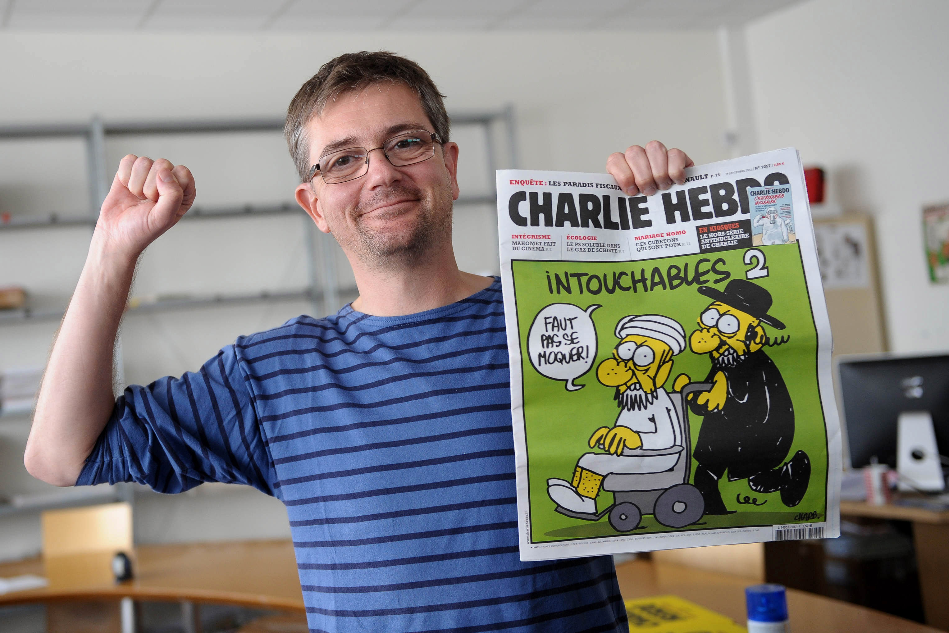 Stephan Charbonier, former editor-in-chief of CHarlie Hebdo, was among those killed in the attack in Paris on Jan. 7