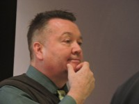 Mike Fonda, a retired Cohoes Police officer who specialized in sexual assault crimes, now does counseling at Hudson Valley once a week.