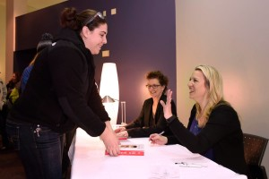 Best selling author Cheryl Strayed spoke at Hudson Valley on Mar. 12 about the events in her life that led to her writing -Wild.-