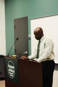 Cylon George, Campus Chaplain