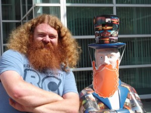 Red-bearded activist runs for Troy City Council