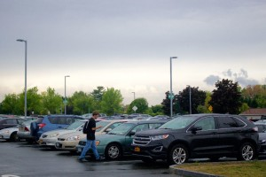 Surviving early semester parking madness