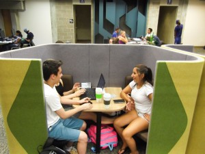 Study pods installed to answer library seating problems