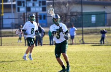 Lacrosse team searches for solace