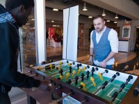 Regional Foosball champion to take on student challengers