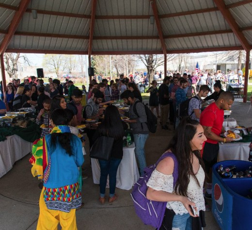 Students 'spring' to annual festival