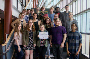 With hard work and dedication, The Hudsonian student newspaper placed third in the nation amongst two-year colleges