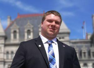 Secretarial candidate: Kyle Hudson