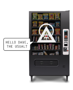 New vending machines will know you better than you know yourself