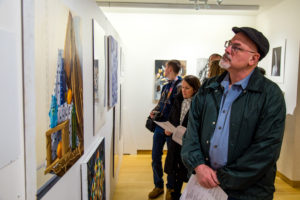Along with paintings and artwork, photography was also showcased during the exhibit.