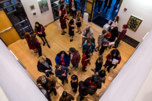 Student art exhibit gets the pulse pounding