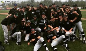 The men's baseball team placed second in the NJCAA Region 3 Tournament.