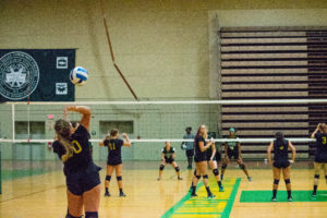 Vikings volleyball triumphs at Corning tournament