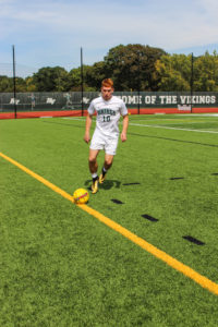 Vikings soccer player recognized by the NCJAA