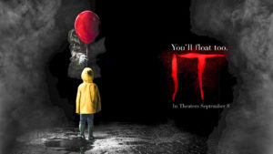 "Stephen King's ""IT"" is the largest ever opening weekend for a horror movie."