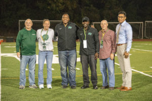 Alumni honored during homecoming