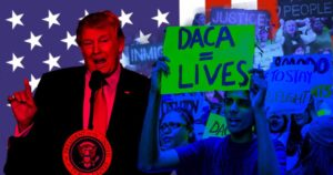President Trump's plan to remove the Deferred Action for Childhood Arrvals puts approximately 800,000 child or teenage  aged immigrants at risk of deportation.