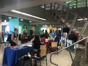 Both students and faculty who attended last week's Wellness Fair were provided with information on various campus services.