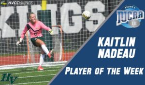 Kaitlin Nadeau named NJCAA Player of the Week