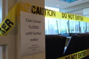 Club Corner shut down
