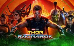 Thor: Ragnarok's opening weekend earned $121 million in the U.S. and Canada.