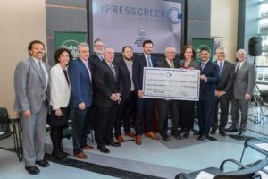Cypress Creek invests $25,000 with Hudson Valley
