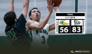 Men's basketball falls to Columbia-Greene
