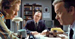 Spielberg's 'The Post' features a thrilling narrative