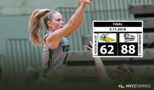Women's basketball falters on Valentine's Day